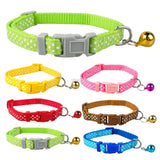 Nylon Cat Collar Dots Print - Treat Your Dog Good