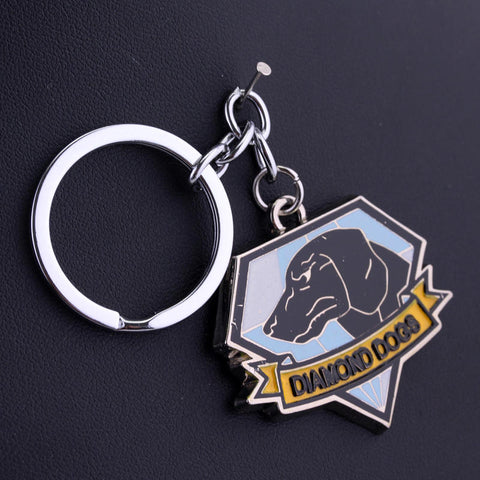 Keyring Metal 3D Pendant Gift Collectibles - Treat Your Dog Good