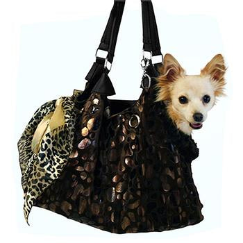 RunAround Dog Tote Carrier - Black - Treat Your Dog Good