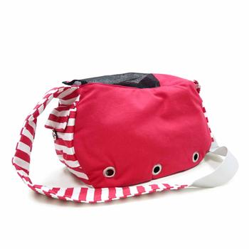 Soft Sling Bag Dog Carrier by Dogo - Red - Treat Your Dog Good