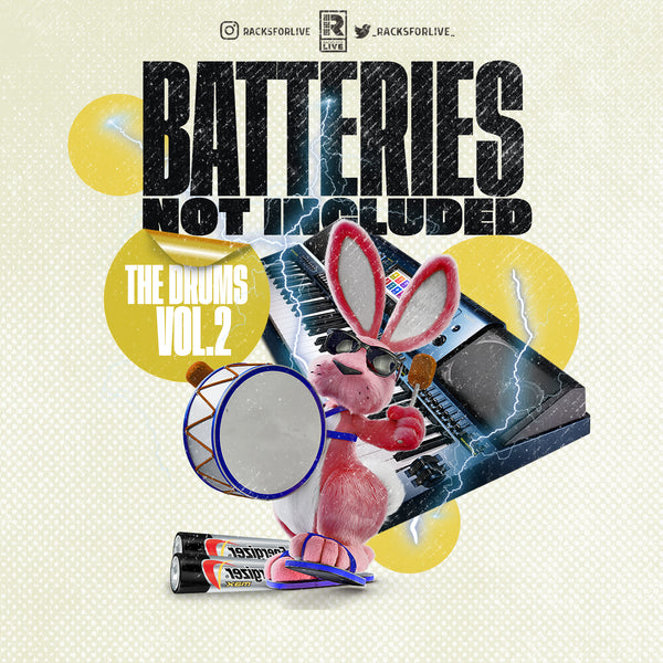 Batteries Not Included-The Drums Vol. 2