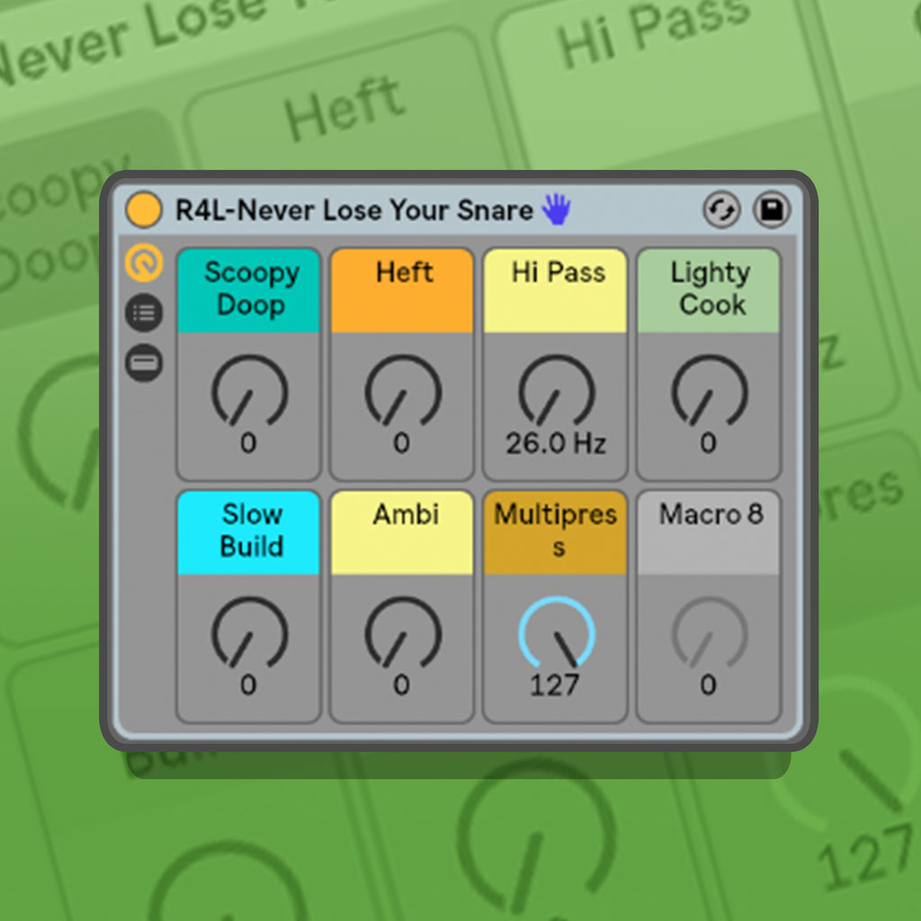 Never Lose Your Snare Preset