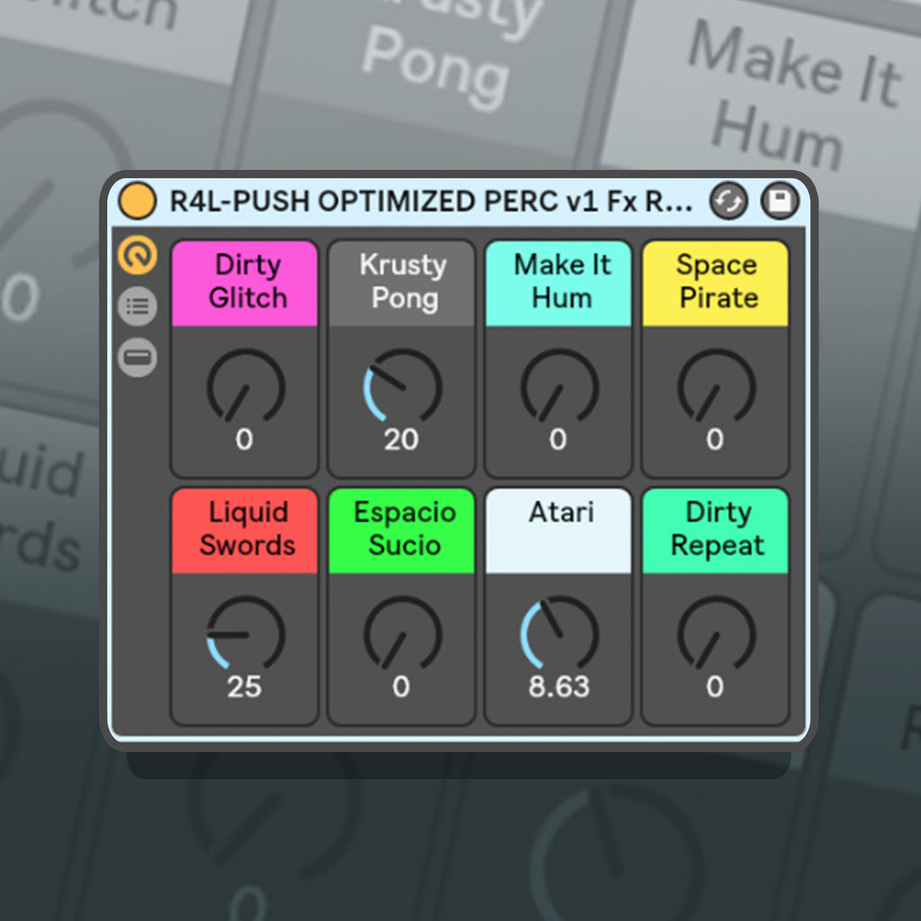 Push Optimized Perc FX Preset