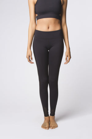 Black Mesh Legging