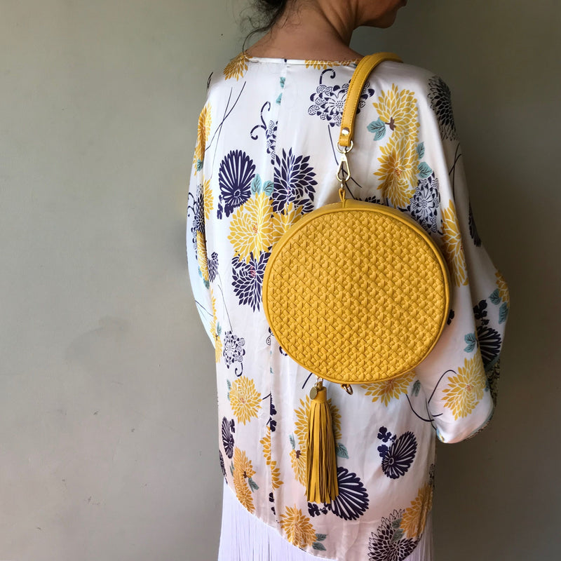 Moyo Drum Bag – Sunshine Yellow