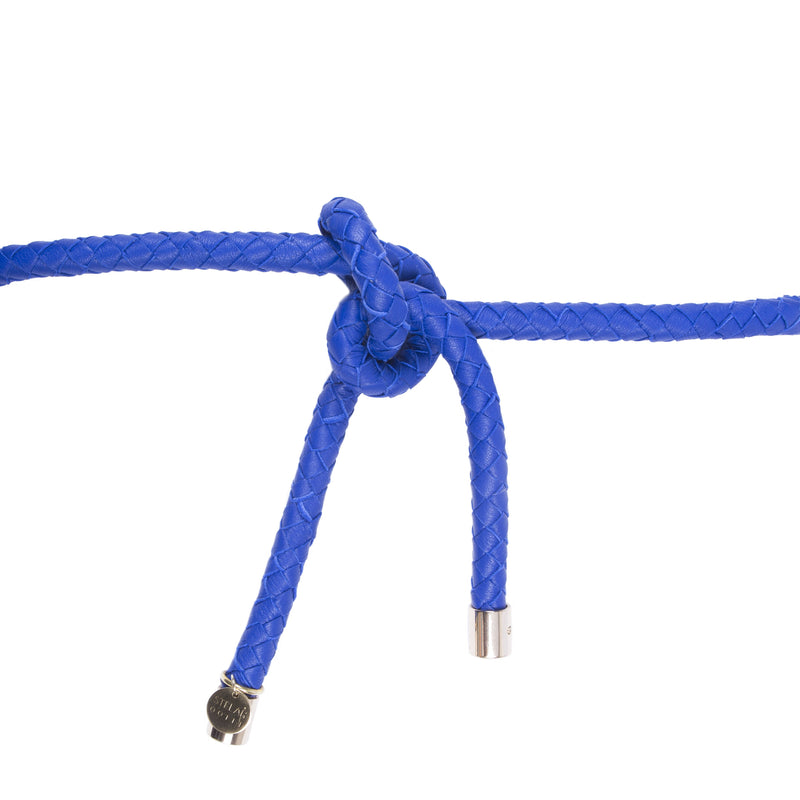 Meno Woven Belt – Electric Blue