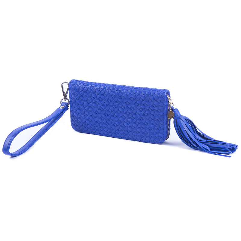 Nusa Long Wallet – Electric Blue