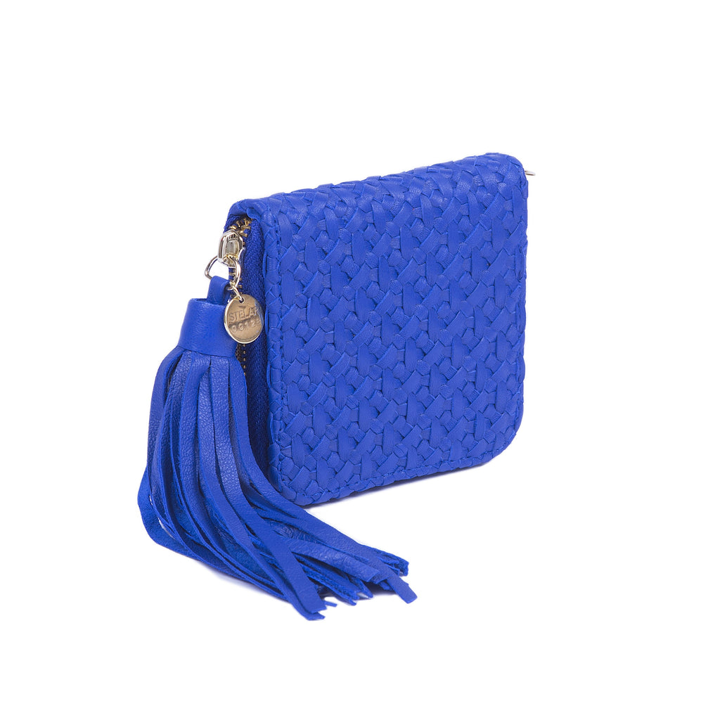 Pantai Square Wallet – Electric Blue