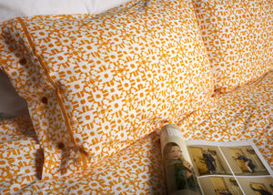 Duvet Cover Set Shimla Tumeric Fair Trade Organic