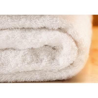 White Organic Cotton Fairtrade Hand Towel