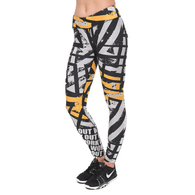 Legging fitness long Asphalt - Lecsia
