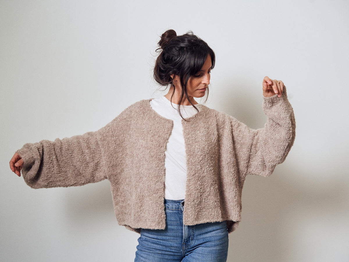 CLOUD CARDIGAN | alpaca