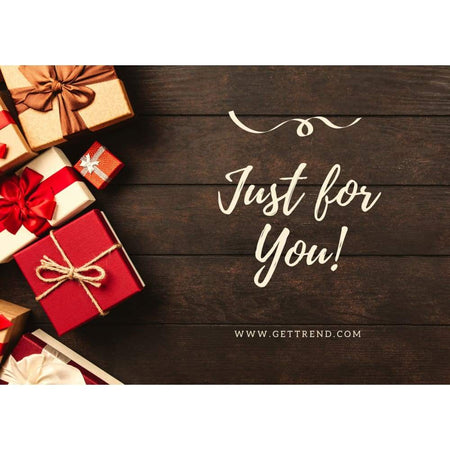 Gift Card - Just For You £10.00 Gift Card For Only £7.50 - Save 25% Gift Card Get Trend £7.50 Save 25%