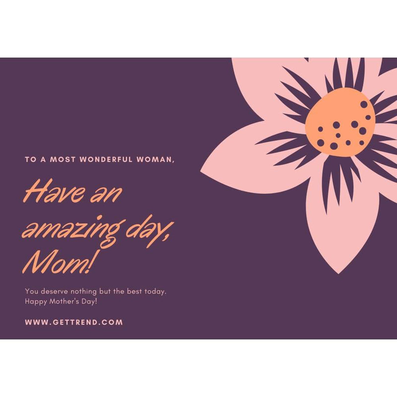 Gift Card - Mother`s Day £10.00 Gift Card For Only £7.50 - Save 25% Gift Card Get Trend £7.50 Save 25%