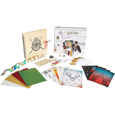 Harry Potter Scrap Book Set over 65 Accessories for Girls Boys Scrap Book Harry Potter £15.98