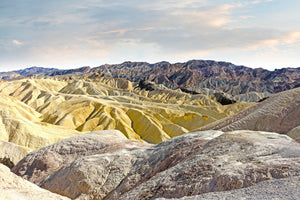 Sandstone Ridges Death Valley
