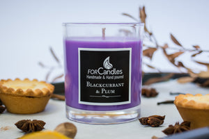 Blackcurrant & Plum Soy Candle