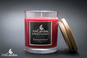ForCandles Enchantment premium scented soy candle