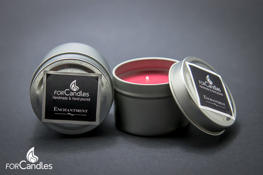 Enchantment - Soy candle, small tin