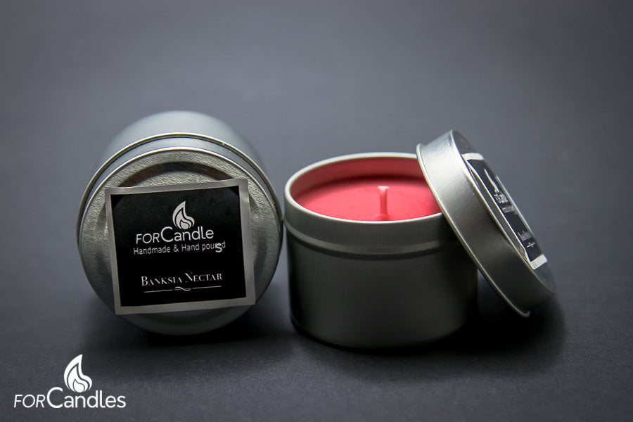 Banksia Nectar - Soy candle, small tin
