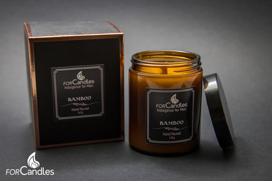 Mandle - ForCandles bamboo scented premium soy candle