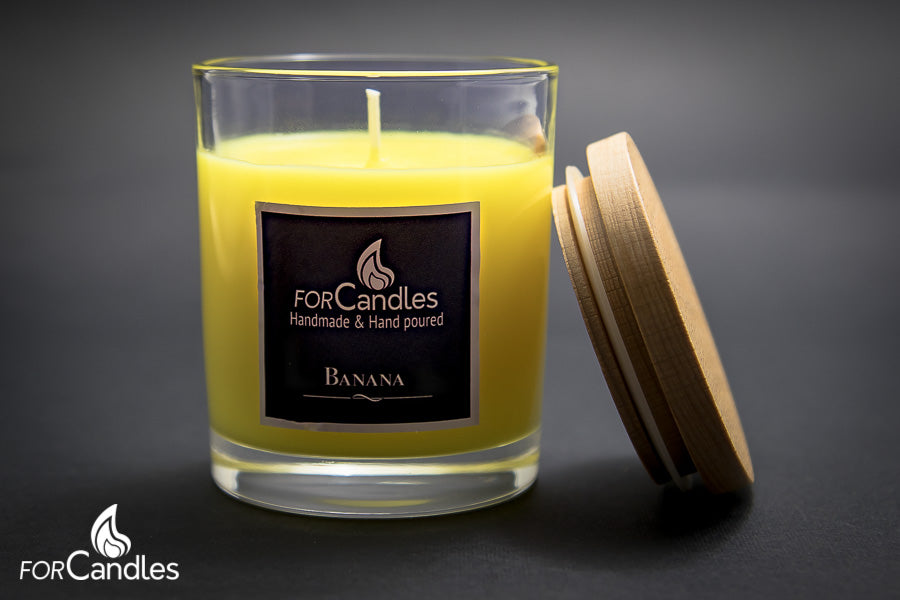 ForCandles banana soy candle