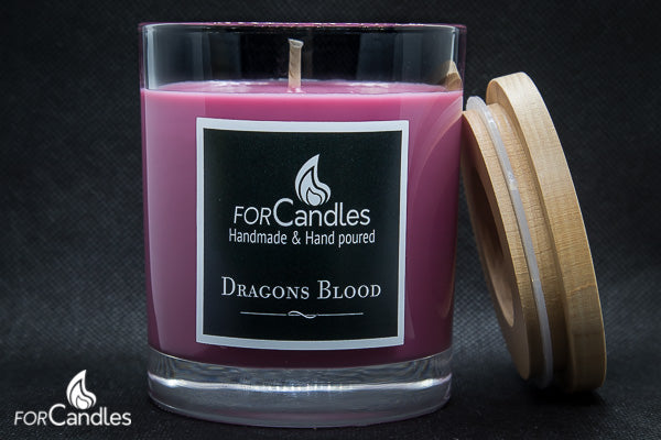 ForCandles Dragons Blood premium scented soy candle