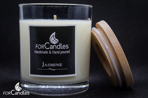 ForCandles Jasmine premium scented soy candle