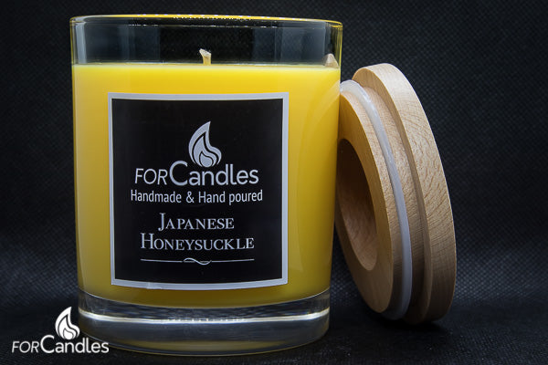 ForCandles Japanese Honeysuckle premium scented soy candle