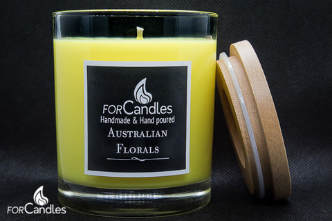 Australian Florals - soy candle
