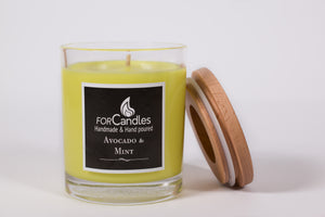 Avocado & Mint Soy Candle
