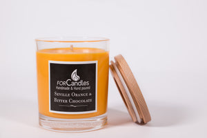 Seville Orange & Bitter Chocolate Soy Candle