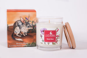 Desert Rose Soy Candle