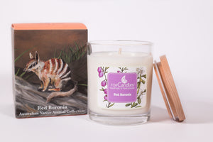 Red Boronia Soy Candle