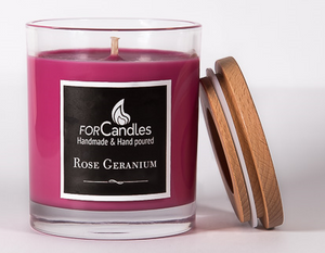 Rose Geranium Soy Candle