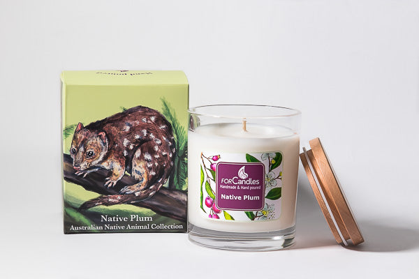 Native Plum Soy Candle