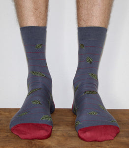 Forest Blue - male socks