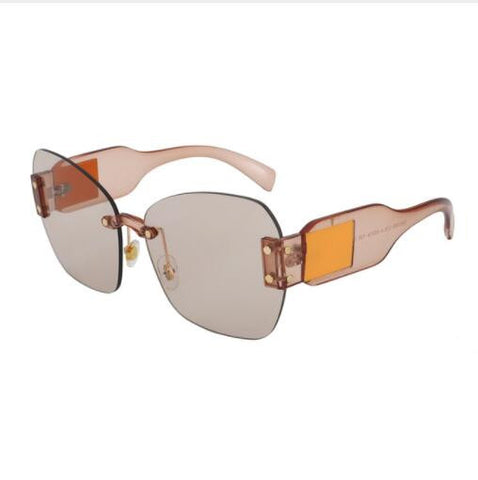 331c85e0fb2 ROYAL GIRL Oversized Square Sunglasses Women Unique Brand Design Rimless  Shades UV400 Eyewear ss369
