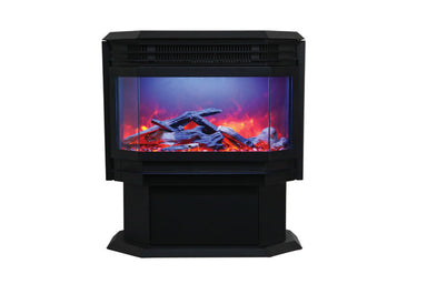 26 Free Standing Electric Fireplace Amantii