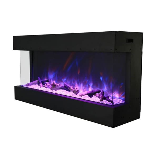 Amantii 40 Tru-View Indoor/outdoor 3-Sided Electric Fireplace 40-Tru-View-Xl - Fireplace
