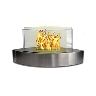 Anywhere Fireplace Lexington Stainless Steel 90217 - Fireplace