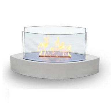 Anywhere Fireplace Lexington White 90204 - Fireplace