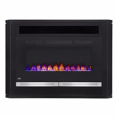Napoleon Alanis Mantel For 60 Tv With Electric Fireplace Nefp42-1815B - Fireplace