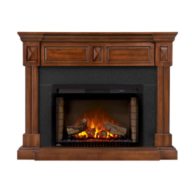 Napoleon Braxton Mantel For 54 Tv With Electric Fireplace Nefp29-1215Bw - Fireplace
