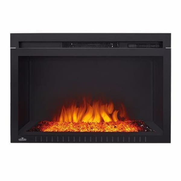 Napoleon Cinema Glass 29 Built-In Electric Fireplace Nefb29Hg-3A - Fireplace