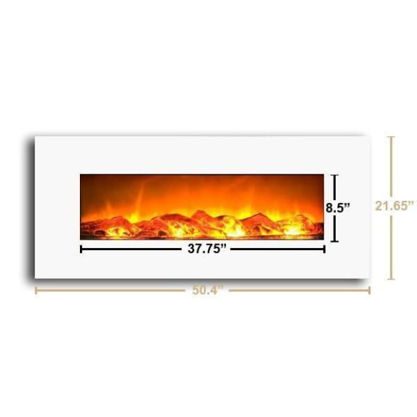 Admirable Touchstone Ivory 50 Wall Mounted Electric Fireplace 80002 Download Free Architecture Designs Xaembritishbridgeorg