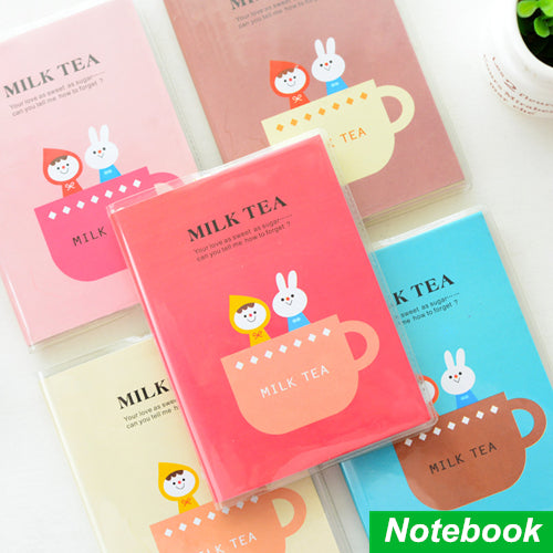Mini Milk Tea Diary Notebooks