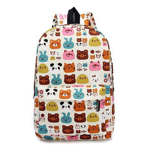 Cool canvas backpack