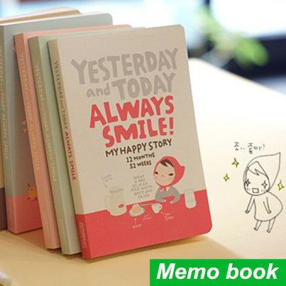 Cute Day Planner Notebook