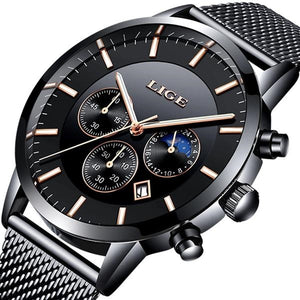 Men's Top Brand Luxury Military Sports Casual Waterproof Quartz Wristwatch Relogio Masculino